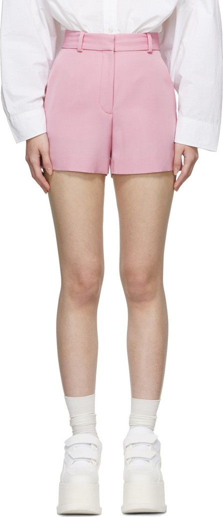 Stella McCartney Pink Wool Tailored Shorts