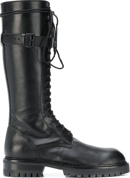 Ann Demeulemeester Tall lace-up boots