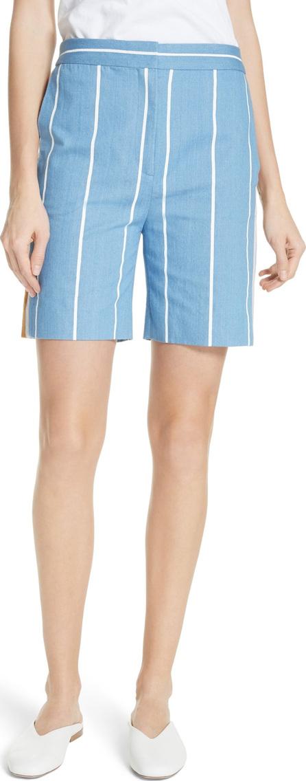 VICTORIA, VICTORIA BECKHAM Stripe Slim Shorts