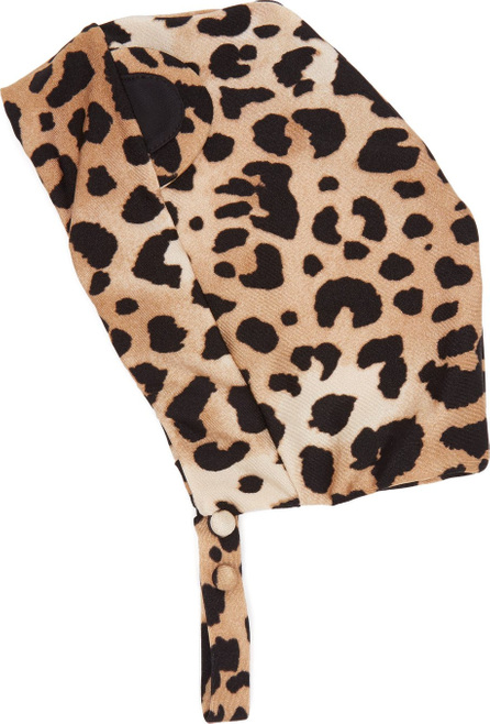 Adriana Degreas X Charlotte Olympia leopard-print swim cap