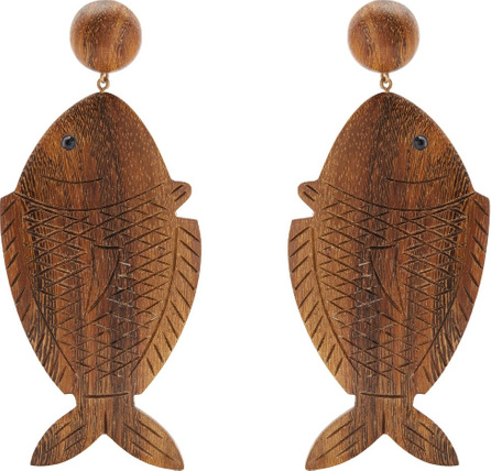 Rebecca de Ravenel Caspia clip-on earrings