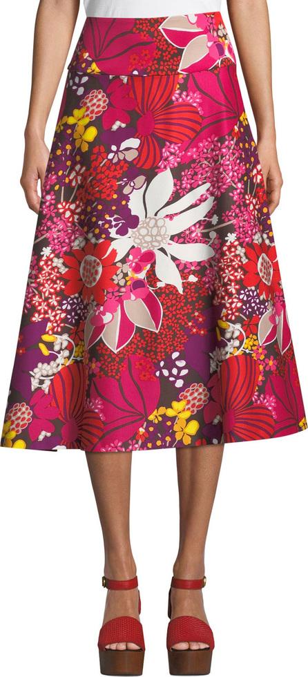 Trina Turk Sparkling 2 Skirt in Flor de Jalisco Faille