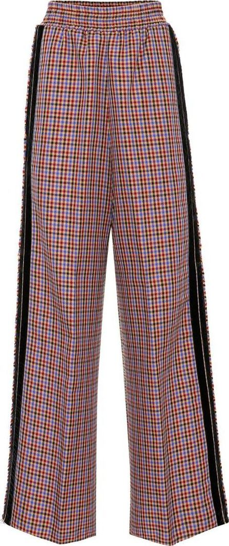 Golden Goose Deluxe Brand Check wool-blend trousers
