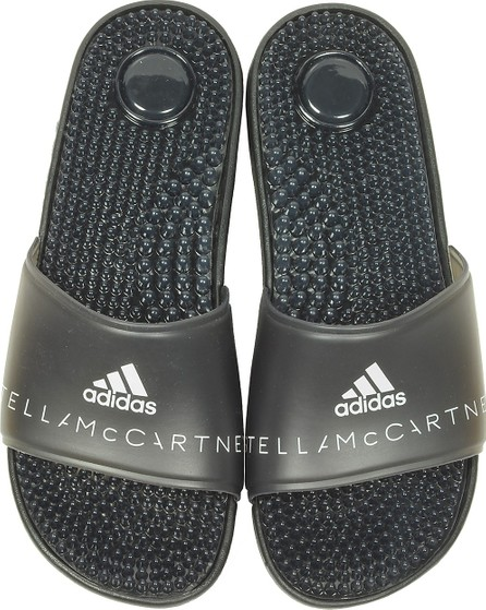 Adidas By Stella McCartney Adissage Black Transparent Slide Pool Sandals