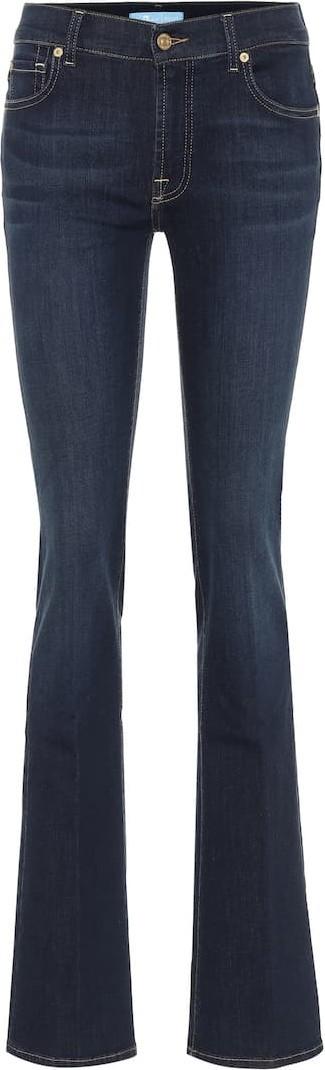 7 For All Mankind High-rise bootcut jeans