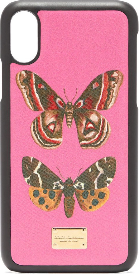 Dolce & Gabbana Butterfly-print iPhone® X case