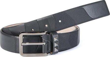 Valentino studded buckle belt