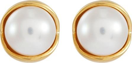 Belinda Chang 'Fruity Pearl' stud earrings