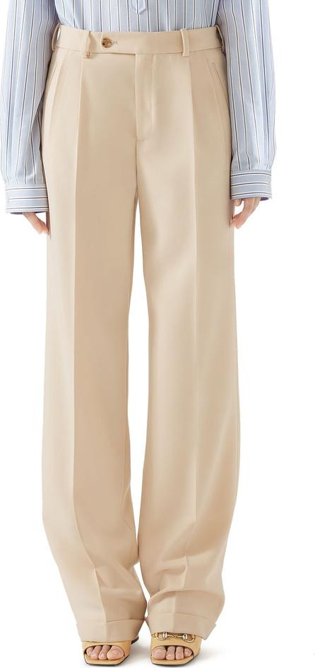 Gucci Wool Cuffed Pants