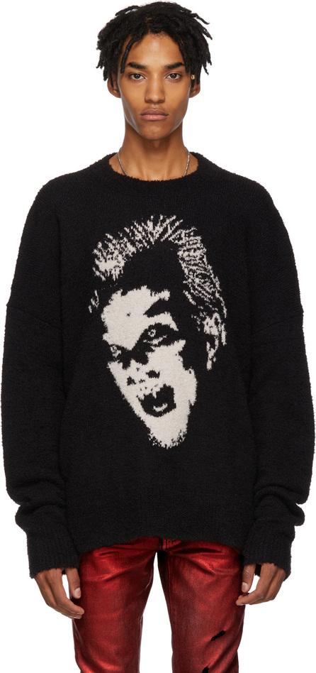 Amiri Black Lost Boys Graphic Crewneck Sweater