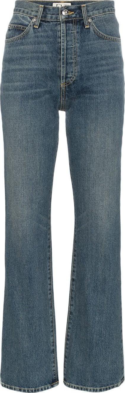EVE DENIM Juliette high waisted straight leg cotton jeans