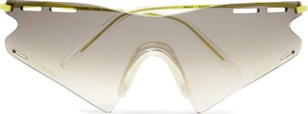 Cmmn Swdn + Ace & Tate LeMond Square-Frame Metal and Acetate Sunglasses