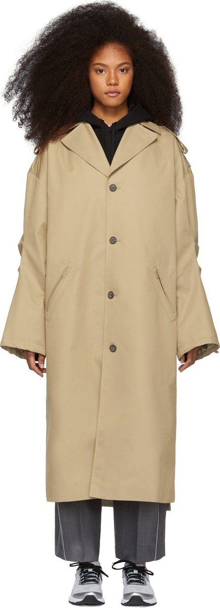 ADER error Beige Single Coat