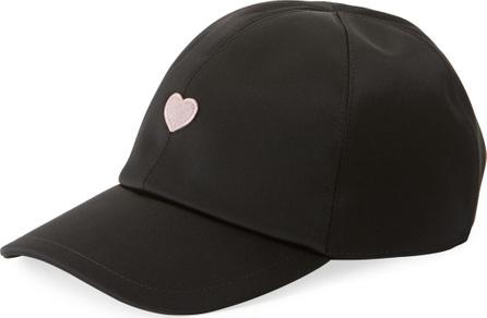 Federica Moretti Heart Embroidered Baseball Cap