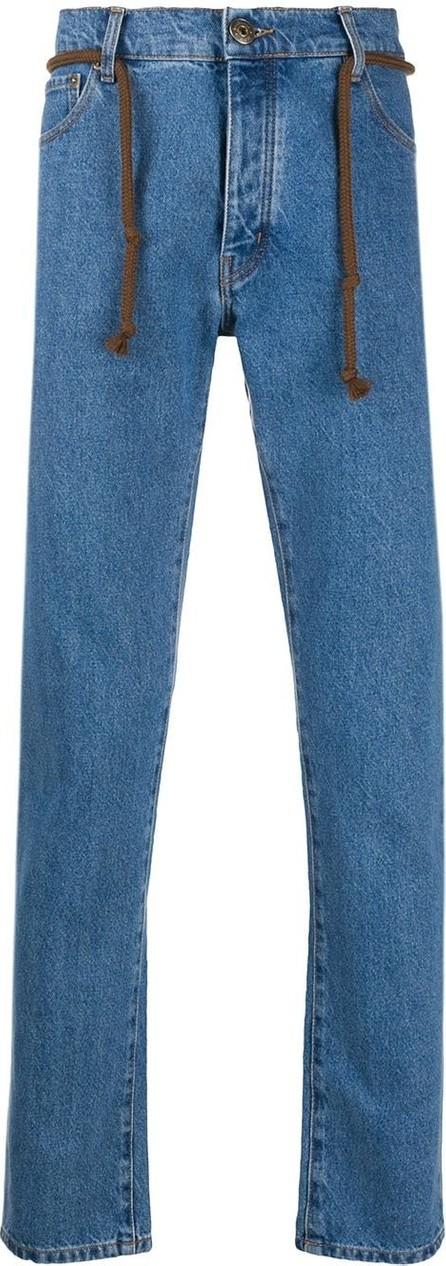 Nanushka Ilya straight leg jeans