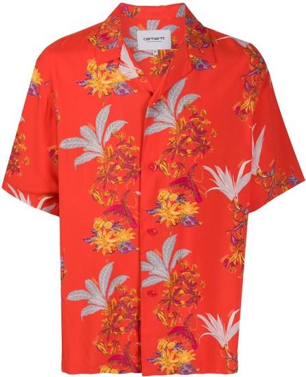 Carhartt WIP Floral short-sleeved shirt