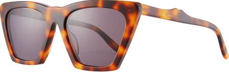 Illesteva Lisbon Cat-Eye Acetate Sunglasses