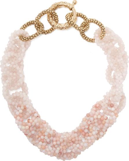 Rosantica Carramato short beaded necklace