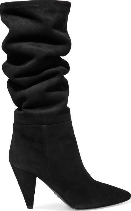 Prada 90 suede knee boots