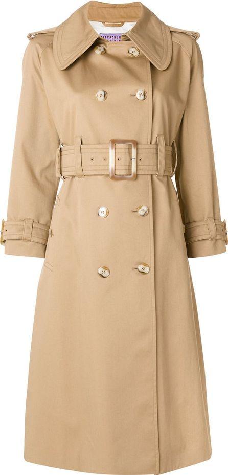Alexa Chung oversized trench coat