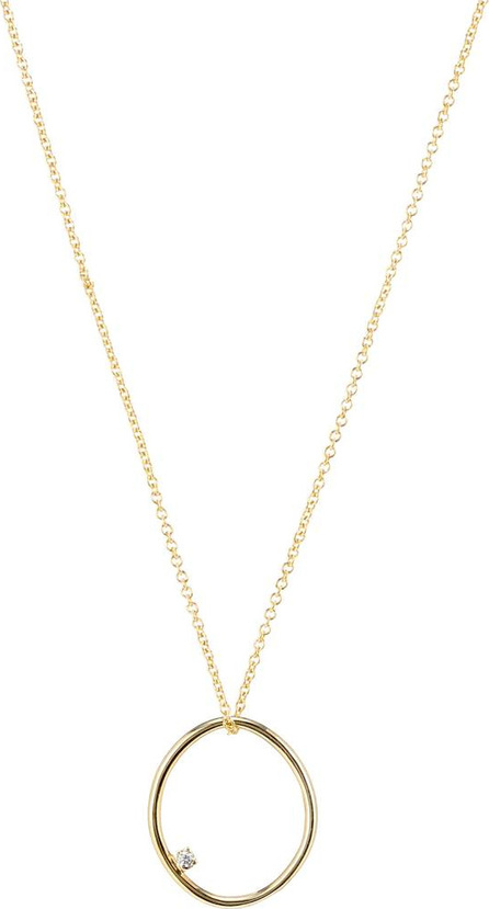 Aliita Huevito Brillante 9kt gold and diamond necklace