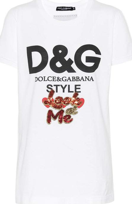 Dolce & Gabbana Look at Me cotton T-shirt
