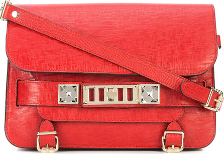 Proenza Schouler Embossed Python PS11 Mini Classic