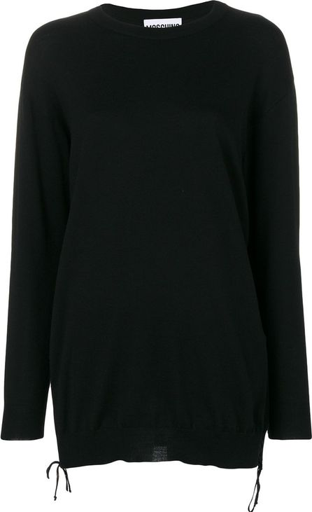 Moschino lace-up detail jumper