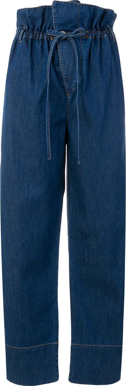 Stella McCartney high waisted voluminous jeans