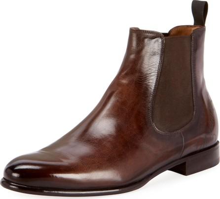 Berluti Men's Scritto Leather Chelsea Boots