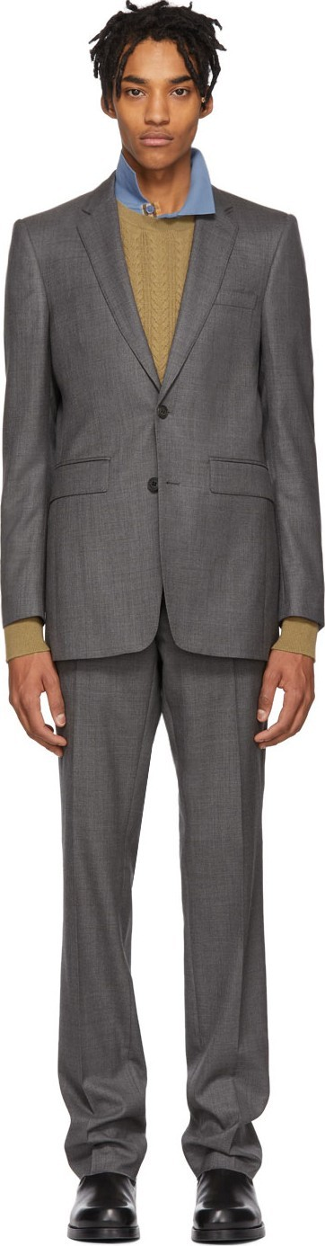 Burberry London England Grey Marylebone Suit