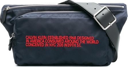 Calvin Klein 205W39NYC Embroidered waist bag