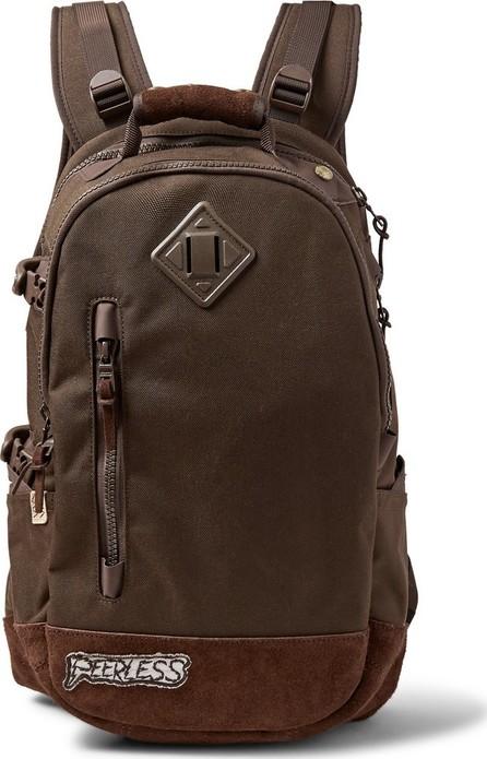 Visvim Suede-Trimmed Cordura Nylon Backpack