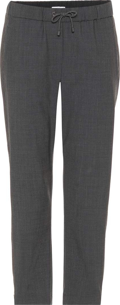 Brunello Cucinelli Wool-blend pants