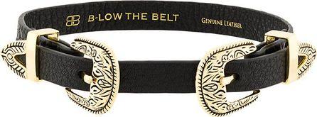 B-Low The Belt double buckle choker