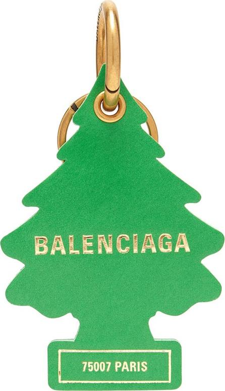 Balenciaga Air-Freshener Tree leather keyring