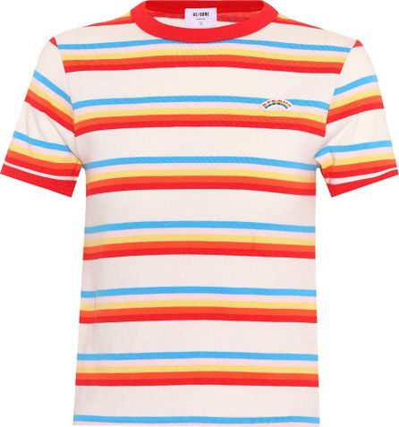 RE/DONE Ringer striped cotton T-shirt