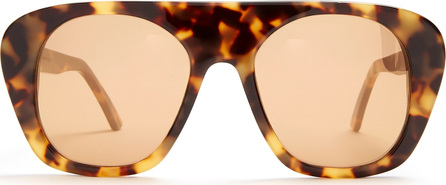 Marques'Almeida Aviator acetate sunglasses