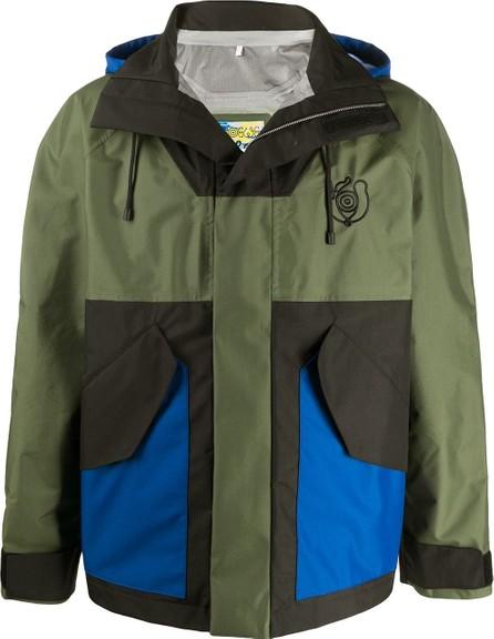 LOEWE Eln colour-block parka jacket