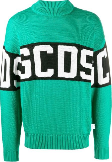 Knitted logo jumper