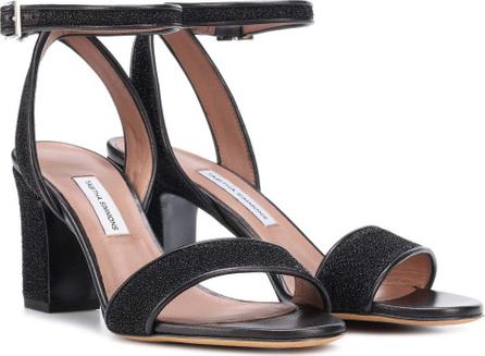Tabitha Simmons Leticia metallic sandals