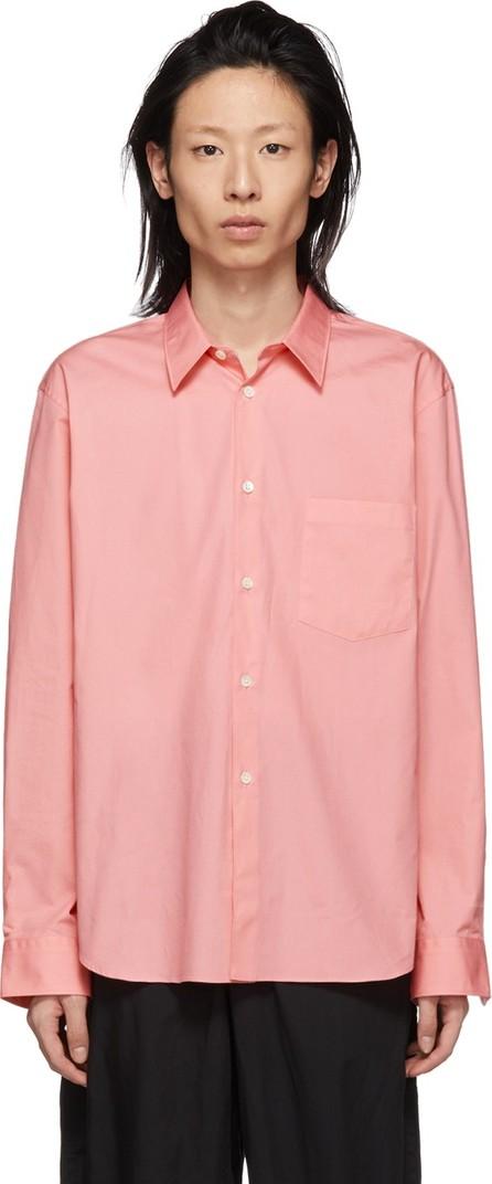 Comme Des Garçons Homme Plus Pink Cotton Shirt