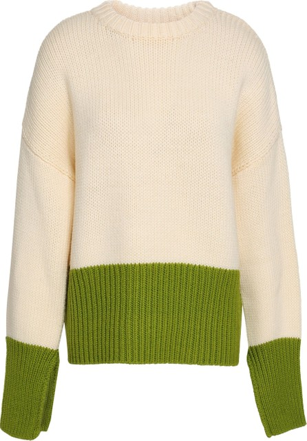 Amanda Wakeley Two-tone wool sweater