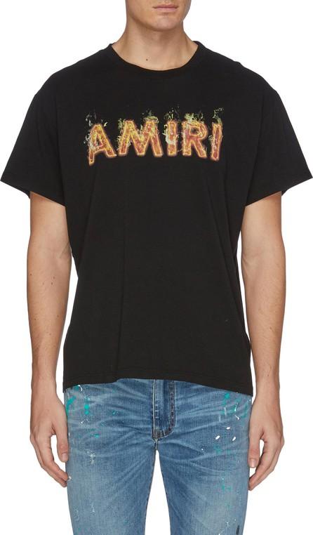 Amiri Flame logo print T-shirt