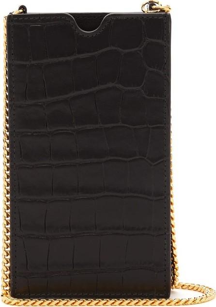 Alexander McQueen iPhone® X case leather cross-body bag