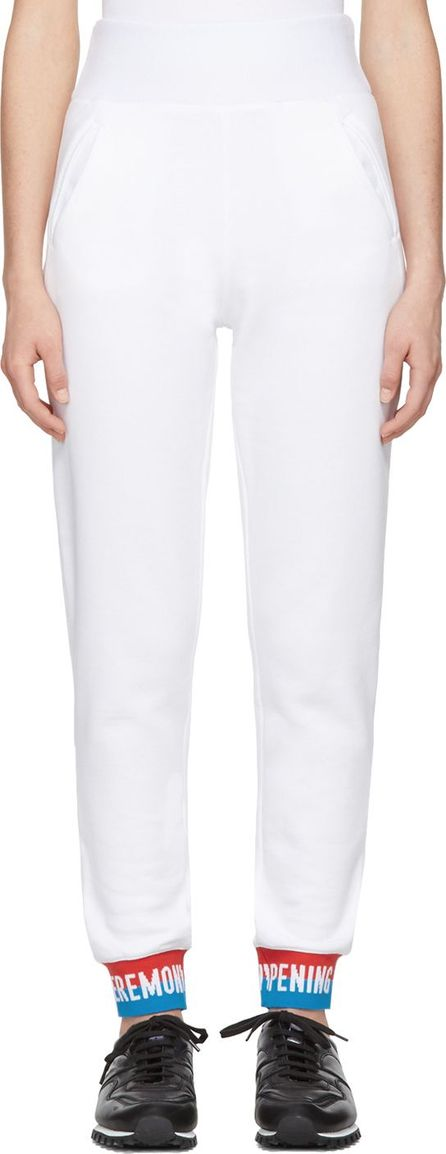 Opening Ceremony White Elastic Logo Lounge Pants