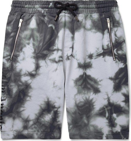 Palm Angels Tie-Dyed Loopback Cotton-Jersey Drawstring Shorts