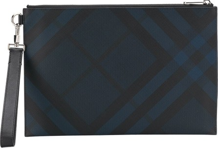 Burberry London England London check zip pouch