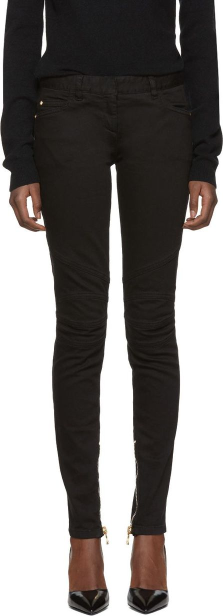 Balmain Black Nevure Jeans