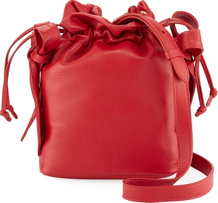 Simone Rocha Leather Bow Pouch Bag